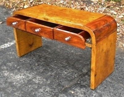 Best Two toned Art Deco style coffee table console