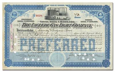 Laclede Gas Light Company Stock Certificate
