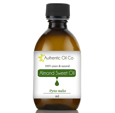 Almond Sweet Oil ~ Organic ~ Cold Pressed Carrier for Massage Aromatherapy Hair