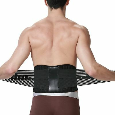 Adjustable Double Pull Lumbar Back Support & Posture/Lower Back Belt Pain Relief