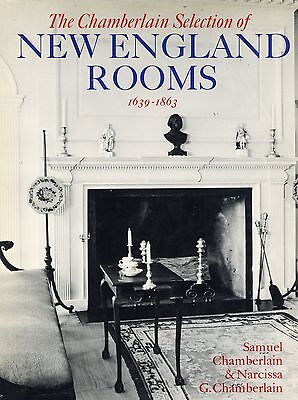 New England Rooms - Architecture Interior Design (1639-1863) / Illustrated Book