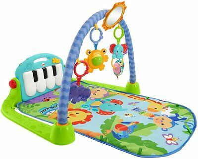 Fisher-Price Musical Mat Baby Kick Play Piano Activity Discover Gym New