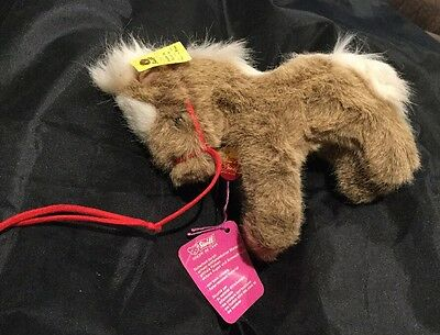 "Vintage Steiff Stompy The pony -5"" With Tags"