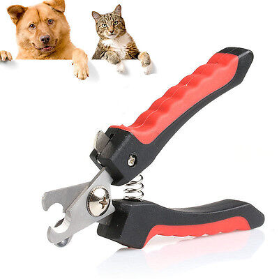 Stainless Steel Professional Nail Toe  Clipper Grooming  Tool For Pet Dog Cat