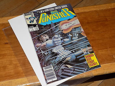 The Punisher #1 (miniseries)  Marvel Comics-signed by Michael Zeck 1986  L@@K!