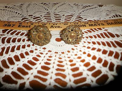 2 Vintage Brass Drawer Pull