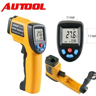New IT100 LCD Temperature Gun Non-contact Infrared IR Laser Digital Thermometer