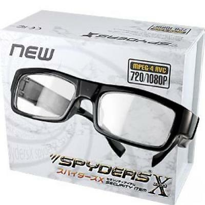 NEW Spy Camera Spiders X eyeglass-type miniature camera clear lens(E-231)