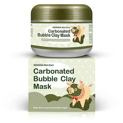 MILKY SKIN Piggy Carbonated Bubble Clay Mask Face Blackhead Mask Cleansing UK
