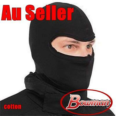 Cotton Black Balaclava Head Face Mask Hood Biker Motor Bike Helmet Liner One