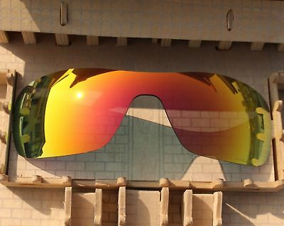 093d4981c7 ACOMPATIBLE Polarized Lens Replacement Fire Red for-Oakley Turbine Rotor  OO9307