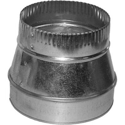 "6x4 Round Duct Reducer 6"" to 4"" Adapter"