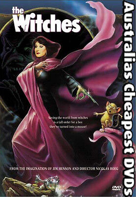 The Witches DVD NEW, FREE POSTAGE WITHIN AUSTRALIA REGION ALL