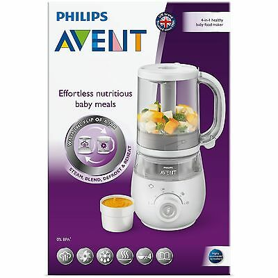 Philips Avent 4 In 1 Healthy Baby Food Maker *michael Vasili Chemist*
