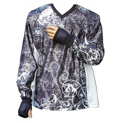 "Tournament Paintball Jersey ""Ghost"" Grau Gotcha Shirt Oberteil Trikot"