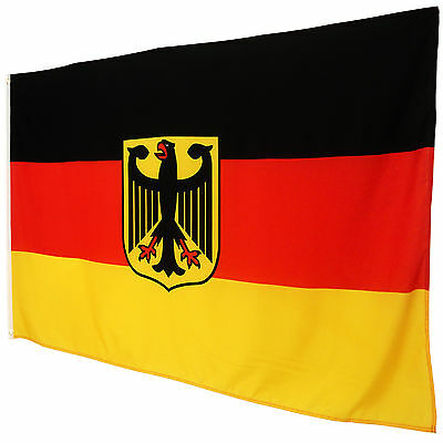 Germany Flag With Eagle 90 x 150 German Flag National Flag Germany Flag