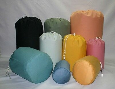 Cotton stuff sac sack bags, PE, KIT or CAMPING Various colours Limited stock
