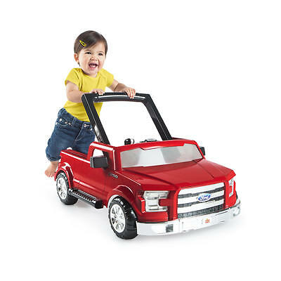 3 Ways To Play Ford F 150 Walker Red Bright Starts Baby Exerciser Adjustable New
