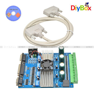 CNC TB6560 3.5A 4 Axis Stepper Motor Driver Board Controller 4 Engraving Machine