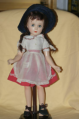 "Vintage 18"" Tagged Madame Alexander Margaret O'Brien Composition Doll"
