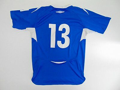 2005 2015 Umbro Larvik Turn IF Norway home shirt jersey soccer rare old 164 #13
