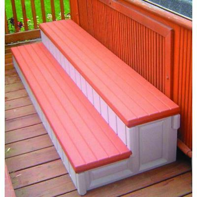 """NEW BlueWave Products SPAS AND ACCESSORIES NP560 36"""" Premium Spa Step-Redwood"""