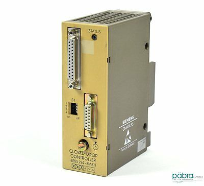 Siemens Simatic S5 Closed Loop Controller,6ES5 262-8MB12,6ES5262-8MB12