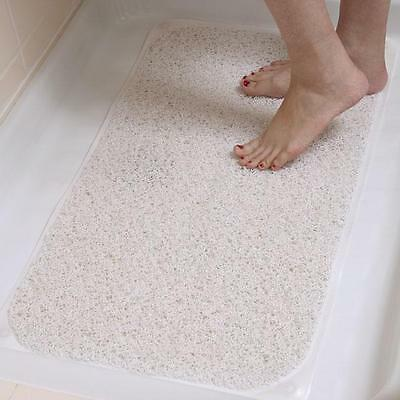 AquaRug Safe Non Slip Shower - Bath Mat Comfortable and Safe. Loofah for Feet