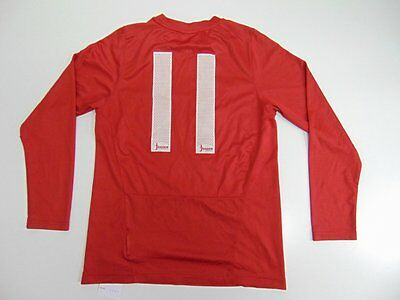 2010 2012 Nike BK Skiold Norway Norge home shirt soccer rare long sleeve YL #11