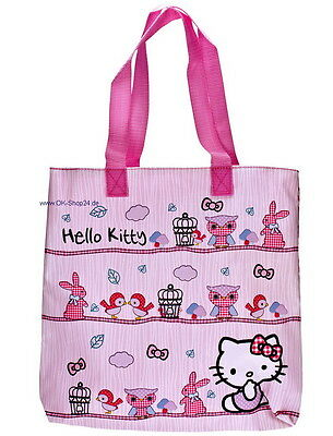 Hello Kitty Woodland Shopper Tasche Handtasche Henkeltasche NEU
