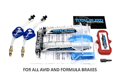 Avid Brake Bleed Kit - Juicy 3,3.5,4,5,7, Elixir 1,3,5,7,9,R,CR, Code 5,R, XO.
