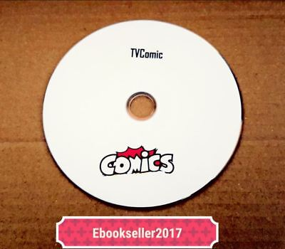 ebooks, TV Comics and Annuals on Disc PDF and CDisplay (included) Formats for PC