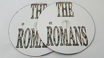 Roman Empire History scanned from old books thousands of pages on 2 disc in PDF