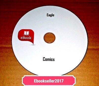 Eagle Comics and Annuals on Disc PDF & CR Display(included)Format to read on PC