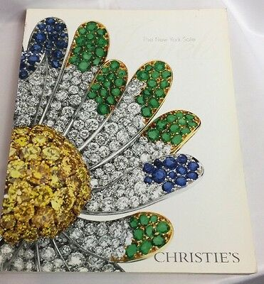Christies Jewels The New York Sale 16 April 2008 Auction Catalog Free Shipping
