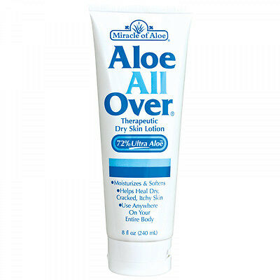 Body Cream For Dry and Sensitive Skin With 72%  of pure Aloe Vera Gel