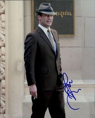 Jon Hamm SIGNED photo - Mad Men - GM18