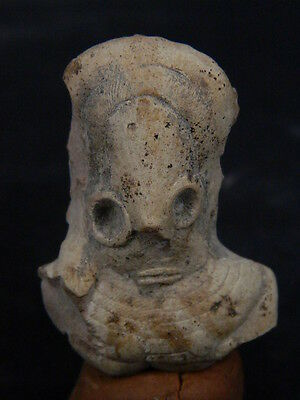 Ancient Teracotta Mother Goddess Torso Indus Valley 2000 BC  #TR15379