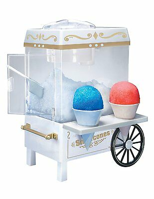 Snow Cone Ice Machine Shaver Sno - Vintage Collection - Nostalgia Electric