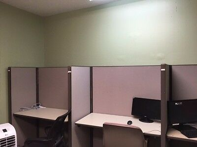 Fully Operational Office Workstation Cubicles