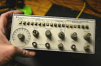 Tested Hp 3312A Sweep Function Generator Sine Square Saw Agilent