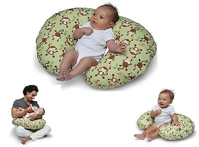 Pillow Sleep Cover Baby Nursing Child Support Classic Green Design Boppy Infant
