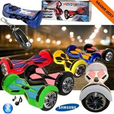 "8"" Smart Balance Scooter Balancing Samsung Battery Bluetooth Wheel Hover Board"