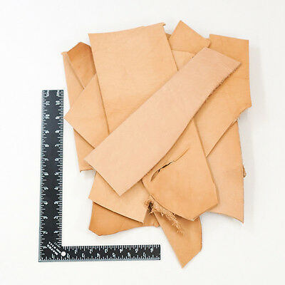 Springfield Leather Co. Vegetable Tan Tooling  Cowhide Leather Remnant Scrap