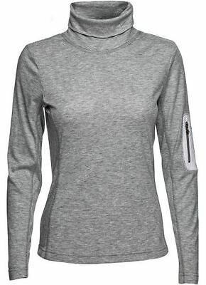 Daily Sports L/S Adela Mock, 700 Silver