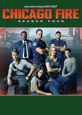 Chicago Fire: The Complete Fourth Season 4 (2016, DVD, 6-Disc Set)