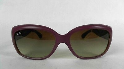 Rayban Rb4101 Jackie Ohh Sunglasses Purple Sun Glasses Ray-Ban Italy 6134/13 3N