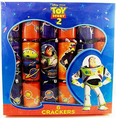 Toy Story CHRISTMAS CRACKERS English Party Crackers (set of 6) Buzz Woody