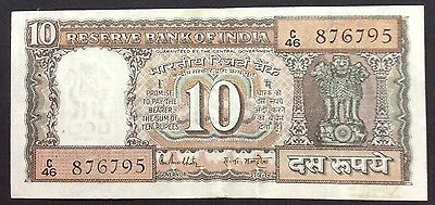 10 rupee India circulated condition - C46 876795