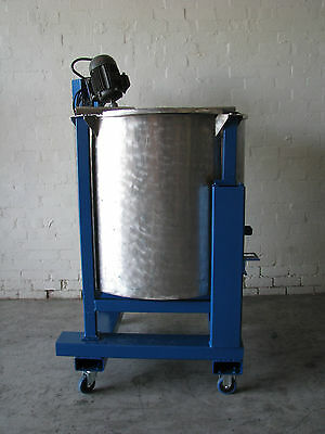 Stainless Steel Mixing Tank - 600L
